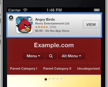 smart-app-banner-support - WPtouch