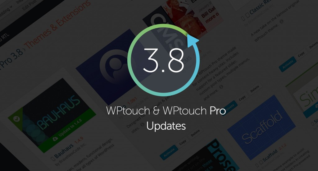 New version of WPtouch